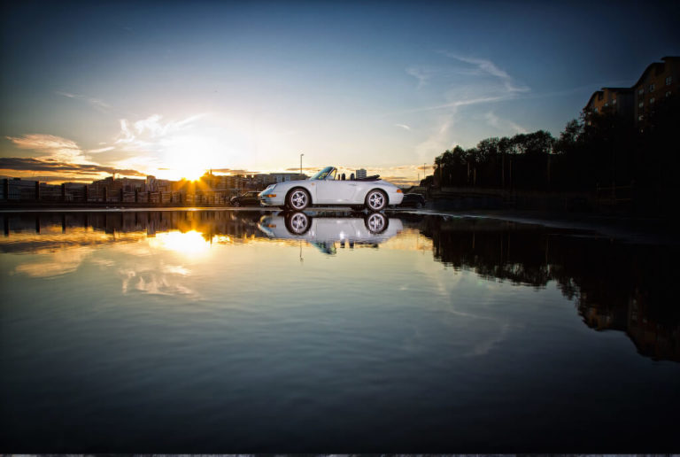 Car Across The Water